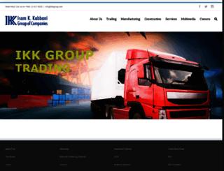 ikk-group.com screenshot