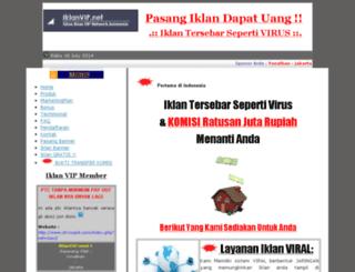 iklanvip.net screenshot