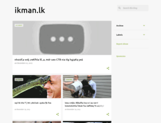 ikman-srilankaa.blogspot.qa screenshot