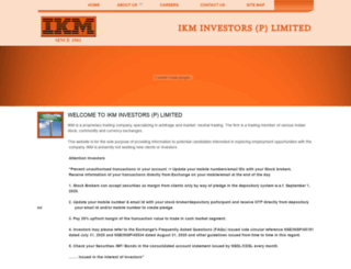 ikminvestor.com screenshot