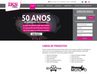 iks.com.br screenshot