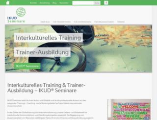 ikud-seminare.de screenshot
