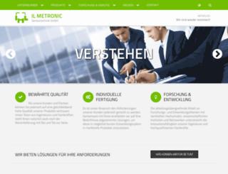 il-metronic.de screenshot