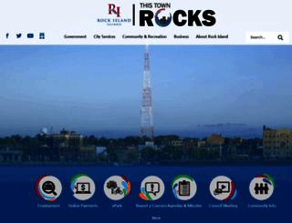 il-rockisland.civicplus.com screenshot