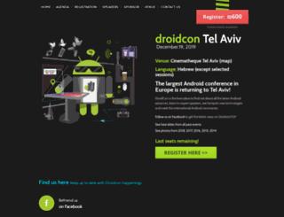 il.droidcon.com screenshot