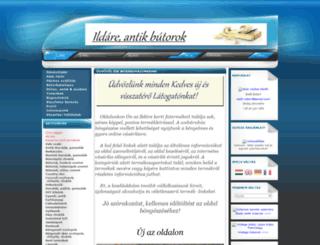 ildare.unas.hu screenshot