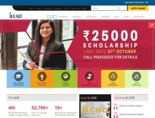 ilead.net.in screenshot