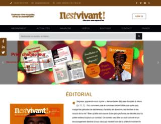 ilestvivant.com screenshot