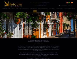 iletours.com screenshot