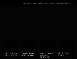 ilford.com screenshot