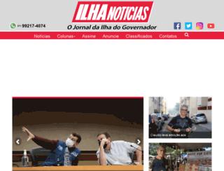 ilhanoticias.com.br screenshot