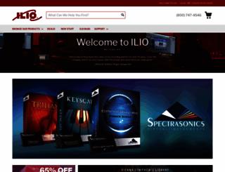 ilio.com screenshot