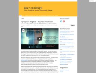ilkercanikligil.com screenshot