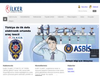 ilkerticaret.com.tr screenshot