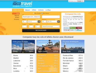 illicotravel.com screenshot