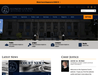 illinoiscourts.gov screenshot