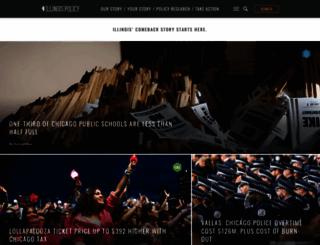 illinoispolicy.org screenshot