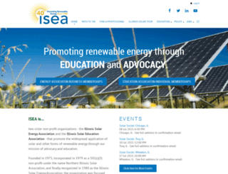 illinoissolar.org screenshot