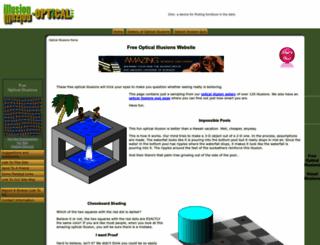 illusion-optical.com screenshot