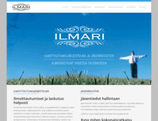 ilmarix.fi screenshot