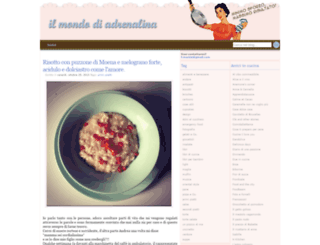ilmondodiadrenalina.blogspot.com screenshot