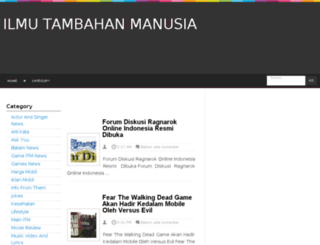 ilmutambahanmanusia.blogspot.com screenshot