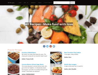 iloveallrecipes.com screenshot