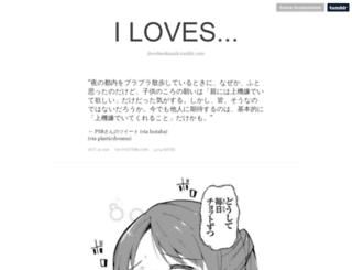 ilovebookmark.tumblr.com screenshot