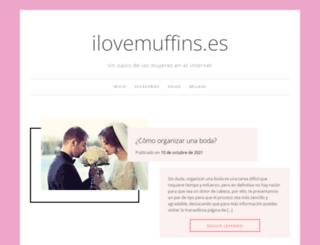 ilovemuffins.es screenshot