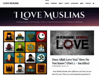 ilovemuslims.net screenshot