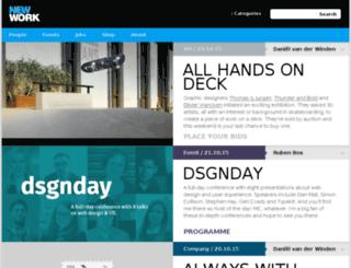 ilovenewwork.com screenshot