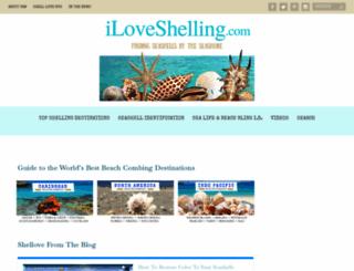 iloveshelling.com screenshot