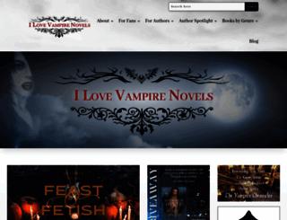 ilovevampirenovels.com screenshot