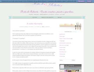 ilsitodiroberta.com screenshot