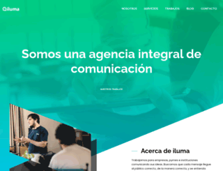 iluma.com.ar screenshot