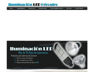 iluminacionledhercules.com screenshot