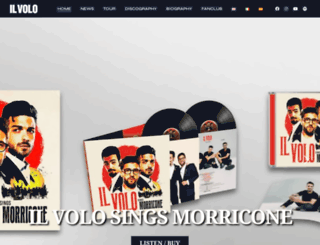 ilvolomusic.com screenshot
