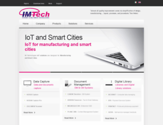 im-tech.it screenshot