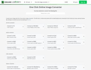 image-conversion.online-convert.com screenshot