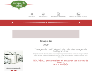 image-de-noel.com screenshot