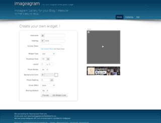 imageagram.com screenshot