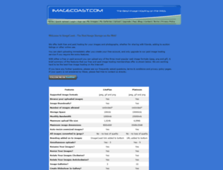 imagecoast.com screenshot