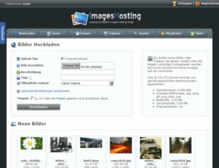 images-hosting.de screenshot