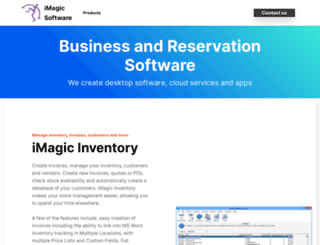 imagicsoftware.biz screenshot