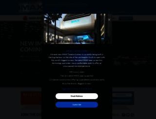 imax.com.au screenshot