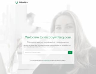 imcopywriting.com screenshot