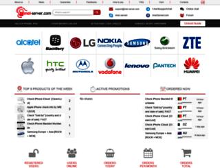 imei-server.com screenshot