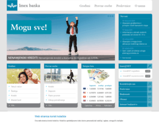 imexbanka.hr screenshot