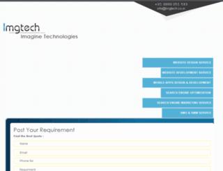 imgtech.co.in screenshot