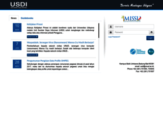 imissu.unud.ac.id screenshot